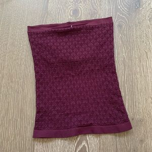 NEW Free People honey textured tube top XS/S